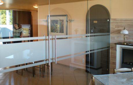 Ganzglastüren von der Glaserei Kovacs