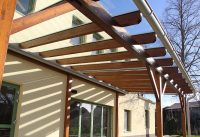 Pergola-Glasdach von der Glaserei Kovacs