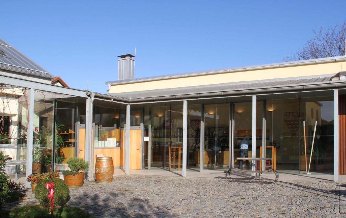 Glasfassade der Glaserei Kovacs