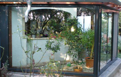Wintergarten von der Glaserei Kovacs