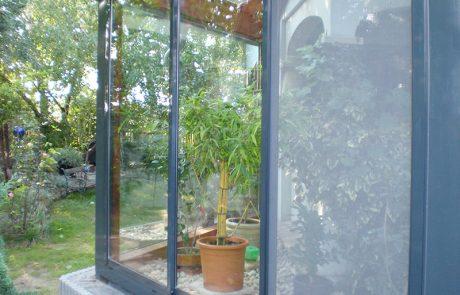 Wintergarten außen von der Glaserei Kovacs